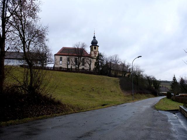 the church at althausen.